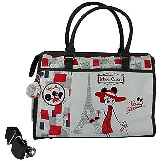 Disney Minnie Couture Bolsa de viaje de Mano Bolera por Mujer Bandolera al Hombro