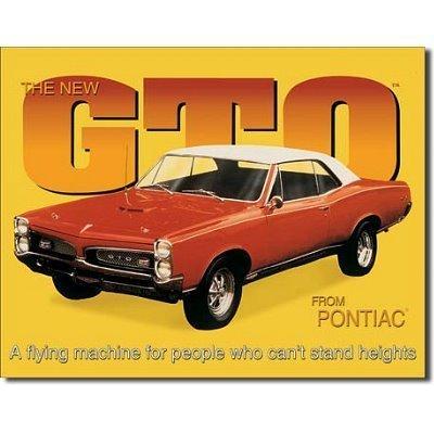 pontiac-gto-car-retro-vintage-tin-sign-by-poster-revolution