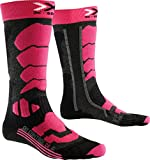 X-Socks Ski Control 2.0 Lady Chaussettes Femme, Anthracite/Fuchsia, FR : S (Taille Fabricant : 35-36)