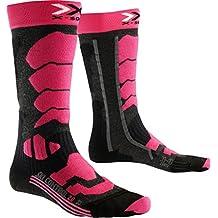 X-Socks Mujer xski Control 2.0Lady skistrumpf, mujer, X-SOCKS SKI CONTROL 2.0 LADY, Anthracite/Fuchsia