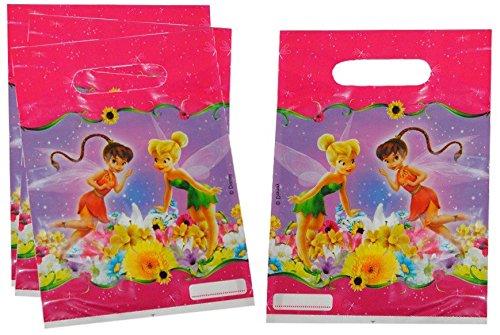 isney Tinkerbell Fairies Geburtstagstüten Folie Mitgebsel Tüten Tasche Fairy Fee (Tinkerbell Tiara)
