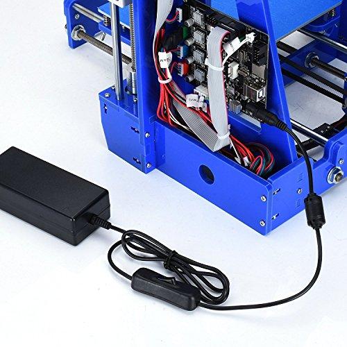ALUNAR MINI 3D Drucker Prusa I3 Kit DIY Desktop FDM 3D Selbstversammlung Special School Boy Geburtstag Geschenk Kids Toy Maker -