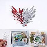 Gemini _ Mall® fustelle stencil per DIY scrapbooking Paper Craft album decorazione di biglietti di Natale modello goffratura Leaf