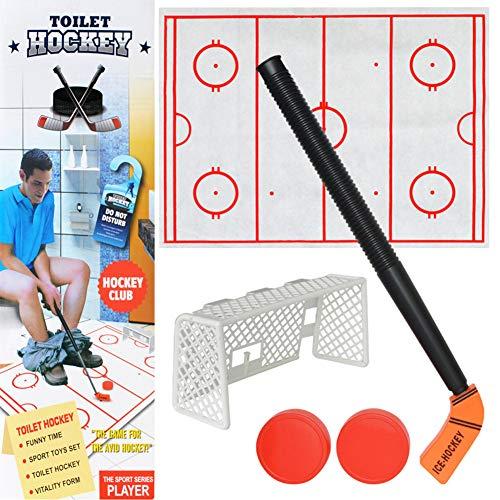 1Pack WC-Hockey-Spiel Decompression Fun Spiel Eishockey-Spielzeug Für Erwachsene Und 5 Jahre Alt Kinderspielzeug Lustige Zeit Von Perfect Life Idee -