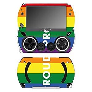 Disagu SF-14232_1223 Design Schutzfolie für Sony PSP Go Motiv Rainbow Pride 02″ klar