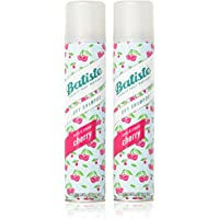 Batiste Dry Shampoo, Cherry, 6.73 Ounce (2 Pack) by Batiste