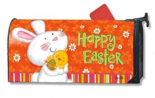Mailbox Cover Bunny Love Easter/Large Magnetic Magnet Works (Kühlschrank Vinyl Cover)