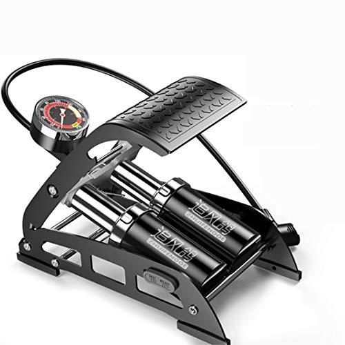 YUN MY GIRL Fuß Hochdruckpumpe Fahrrad Elektrische Motorrad Hause Tragbare Basketball/Schwimmring Luftpumpe (Fett Rohr Durchmesser 200PSI)
