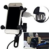Best BELKIN Car Phone Mounts - Motorcycle Bicycle Port Handlebar Mount USB Holder For Review