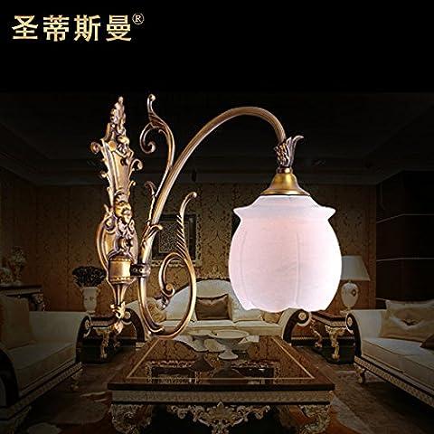 BBSLT Cobre España restaurante mármol lámpara pared lámpara cobre mármol solo pared lámpara 150 *