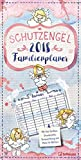 Schutzengel 2018 - Familienkalender, Familien-Terminplaner, Kinderkalende  -  23 x 48 cm