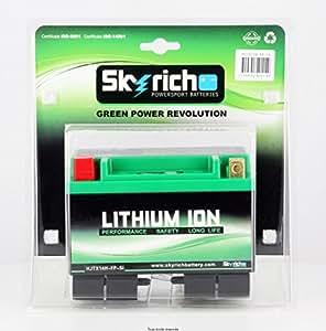 skyrich motorrad batterie lithium ytx14 bs 12v 4ah. Black Bedroom Furniture Sets. Home Design Ideas