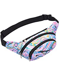 LQZ Multi-Function Men Women Waist Packs Pouch Chest Bag For Jogging Running Riding