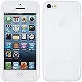 PhoneNatic Coque en Silicone pour Apple iPhone 5c - X-Style blanc - Cover Cubierta +...