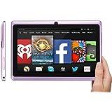 rotor® 7 pulgadas tablet pc, pantalla de alta definición 1020x600, Android 4.4,512 RAM, 8 GB de memoria, cámara, PC, todo el ganador A33 de cuatro núcleos de procesador de la CPU del ordenador, cámara dual con ofertas especiales