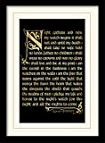 Pyramid International Game of Thrones (Season 3-Nightwatch Oath) 30x40 cm montiert und gerahmt, Mounted 250GSM PAPERWRAP MDF, Mehrfarbig, 44 x 33 x 4 cm