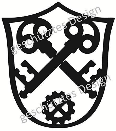 Metall-Design-Westküste Schlosser 40-100cm aus 3mm Stahl (40cm)