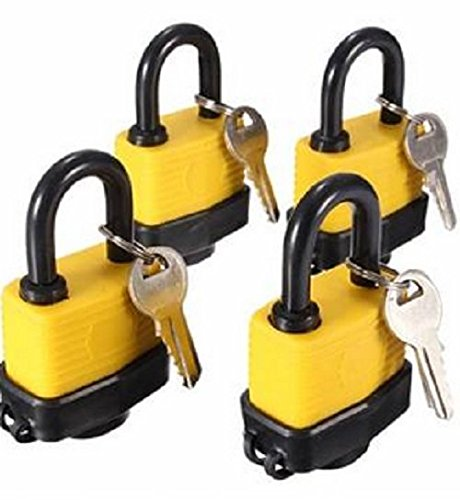 4pcs-40mm-keyed-alike-waterproof-gate-door-padlock-with-8-same-key-door-lock-tools-key-secure-waterp
