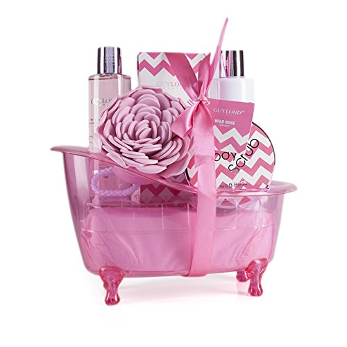 Guylond Wild Rose Collection Bath Tub Gift set, 1er Pack (1 x 549 g)