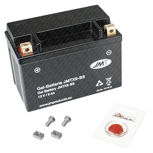 Gel-Batterie für Vespa ET4 125, 1996-2000 (Typ M19200), wartungsfrei, inkl. Pfand €7,50
