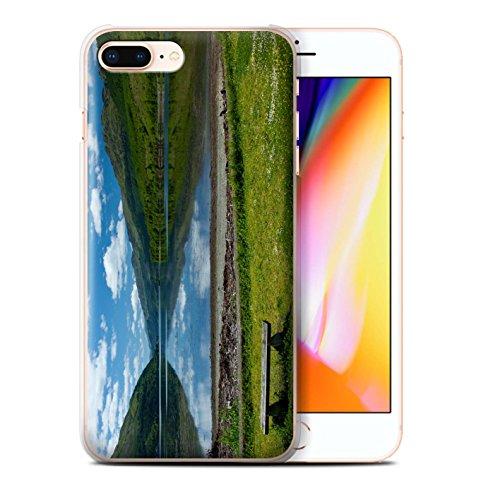 Stuff4 Hülle / Case für Apple iPhone 8 Plus / Ströme Muster / Schottisch Landschaft Kollektion Loch/Bank
