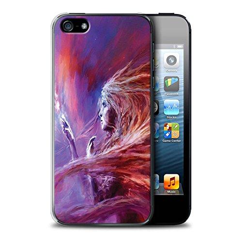 Offiziell Chris Cold Hülle / Case für Apple iPhone SE / Pack 12pcs Muster / Fremden Welt Kosmos Kollektion Raum Mädchen