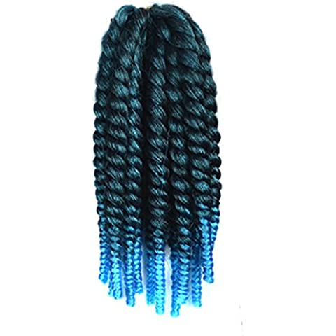 Mayor Promoción 12pulgadas 80g/pack Havana Mambo Twist ganchillo trenzado pelo Extensión buena Fibra Kanekalon Jumbo Braid Hair (#