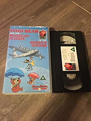 Yogi Bear and the Magical Flight of the Spruce Goose [VHS] [UK Import]