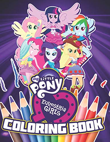 My Little Pony Equestria Girls Coloring Book: 34 Exclusive Illustrations (Zombie Little Girl)