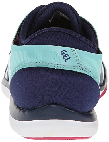 Asics Gel-Fit Nova Kreuz Trainingsschuhe Ice Blue/Navy/Hot Pink