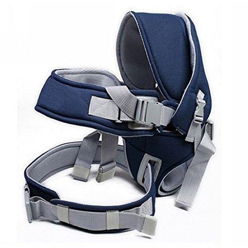 Portantina per bebè Marsupio Bambino Hipseat Multifunzione Vita Seggiolino leggero Spalla da collo Seggiolini per bambini Forniture Sling Bag Sling Bag (Colore : Blue)
