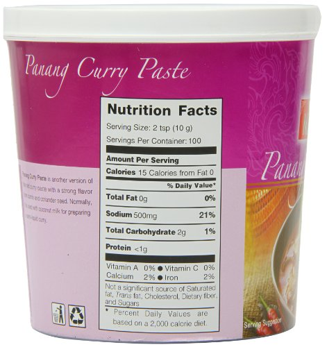 Thai Panang Curry Paste 1kg By Mae Ploy