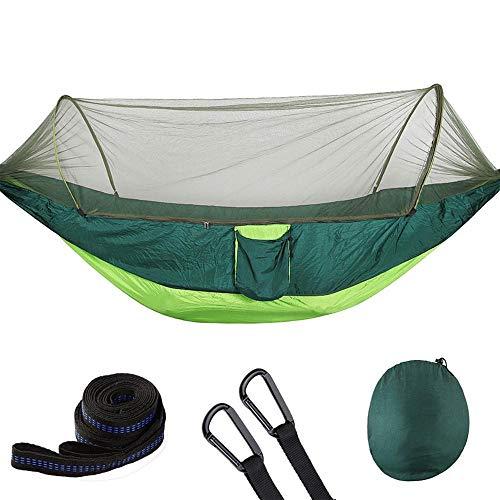 ABNMKJH Hamac Camping intérieur en Plein air Portable Parachute hamac Sac à Dos Voyage de Survie