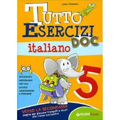 Tutto Esercizi Doc. Italiano. Per La Scuola Elementare: 5