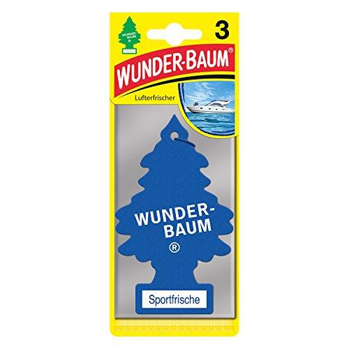 Wunderbaum 171203 Sportfrische, 3-er Pack