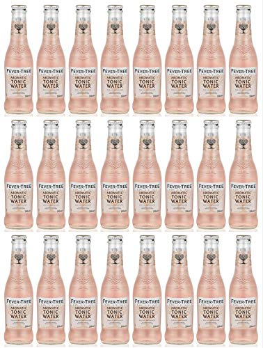 Fever-Tree Aromatic Tonic Water - 24 x 200ml Bottles (Spice Tree)