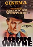 Cinema Classics The Great American Western; John Wayne; The trail Beyond, Riders Of Destiny, West of the Divide, Texas Terror, Winds of the Wasteland