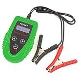 FOXSUR Tester batteria digitale da auto 12V, sistema di avviamento e ricarica Tester e analizzatore di durata della batteria, IR, tensione, resistenza e valore CCA per batteria a ciclo continuo, gel, AGM, allagata