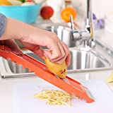 7pcs fruits légumes pommes de terre trancheuse coupeur hachoir éplucheur cuisine...