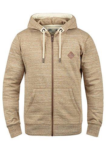 !Solid Craig Herren Sweatjacke Kapuzenjacke Hoodie mit Kapuze und Reißverschluss, Größe:M, Farbe:Dune (5409)
