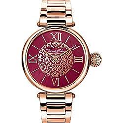 Thomas Sabo Reloj para mujer Karma Oro rosado WA0306-265-212-38 mm