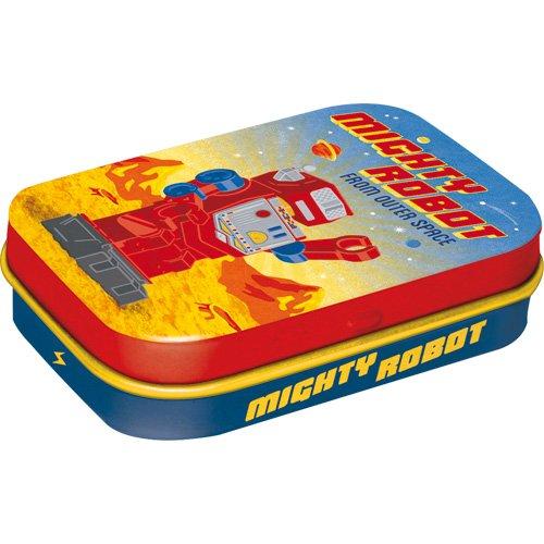 Preisvergleich Produktbild Nostalgic-Art 81319 Retro Wave - Mighty Robot,  Pillendose