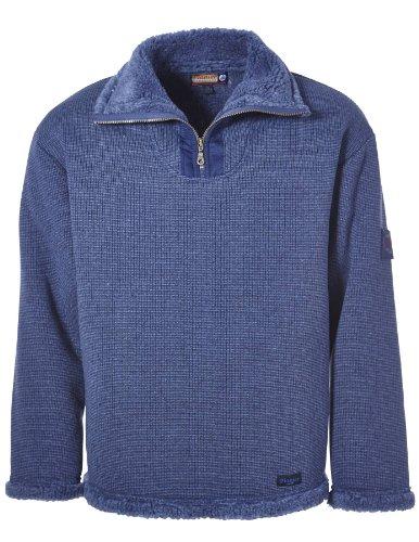 Preisvergleich Produktbild PIONIER WORKWEAR Herren Wirkflor Troyer Winter in blau (Art.-Nr. 2720) jeansblau,Größe L