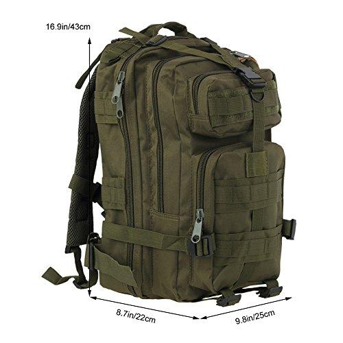 Koolertron sport esterno tattico militare dello zaino Molle Zaini campeggio  Escursionismo Bag Borsa a tracolla Uomo ... 0c4619c96a8