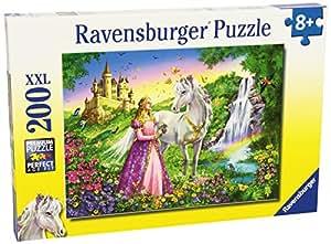 Ravensburger - 12613 - Puzzle XXL 200 Pièces - Princesse et son Cheval