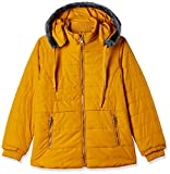 Fort Collins Girls' Regular Fit Jacket (69150_Mustard_30 (10-11 Years))
