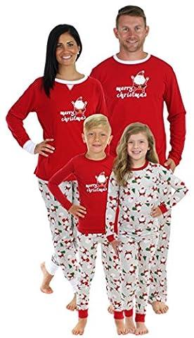 Sleepyheads Bébé Père Noël Pyjama - Partout (SHM-4036-I-ALL-EU-12M)