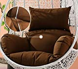 XFF Cuscini Del Cestino Aumentano Il Cuscino Più Spesso Singolo Oscillante Cuscino Del Divano Casa Cuscino Cuscino Cuscino Culla Interna Ed Esterna/Rosso / Blu,B,impostato