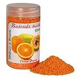 Badesalz Orange, Papaya, Camillen 60, Fussbad Badezusatz für die Füsse, mit Fruchtextrakt, 350 g