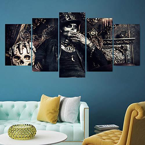 Schädel Muster Sammeln Halloween Wandaufkleber für Party Kreative Pvc Wandbild Tapete Party Schlafzimmer Wohnkultur Ma385 ()